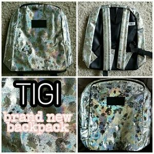 TIGI Holographic mini backpack new